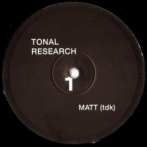 cover: | Tonal Research 01